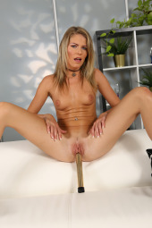 Claudia Macc fisting first time